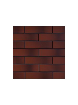 Фасадная плитка с оттенком бургундская