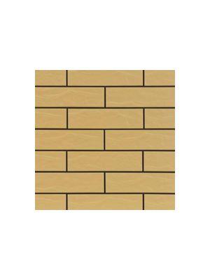 Фасадная плитка песочного цвета рустикальная