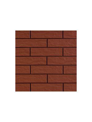 Фасадная плитка красная рустикальная