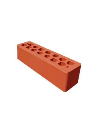 Кирпич СБК-Ромны Красный Морковный (Ч0) Половинка (250х60х65мм)