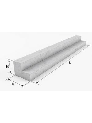 Перемычка балочная 6ПГ 60-31 (бетонная, железобетонная)