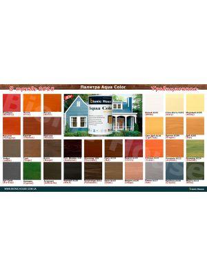 Краска для дерева фасадная лазурь 32 COLOR  Миндаль 0,8л