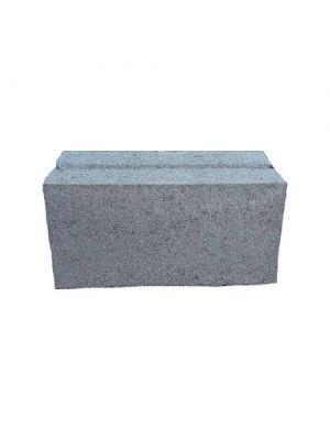 Блок бетонный полнотелый 180х190х390