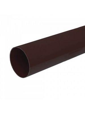 Bryza 125 Труба водосточная коричневая