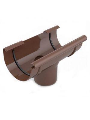 Bryza 125 Воронка желоба сливная коричневая