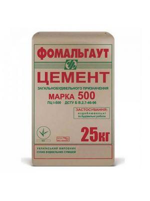 Цемент Фомальгаут М500 в мешках