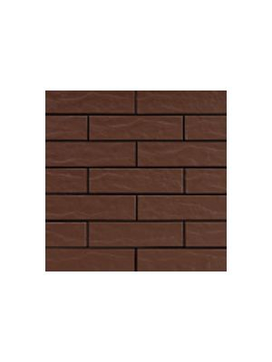 Фасадна плитка коричнева 2 рустикальна