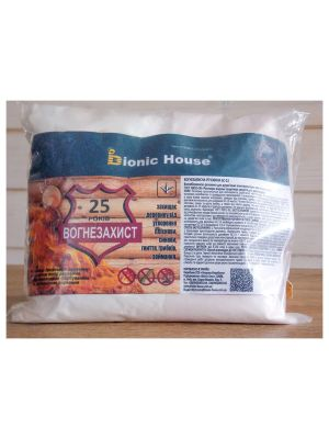 Огнезащитная сухая смесь   БС-13  Bionic-House  концентрат 1:10  (1 кг, розовый)