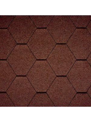 Битумная черепица Icopal Tema Natur (коричневый)