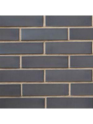 Кирпич СБК половинка глазурованный темно-серый