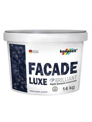 Краска фасадная силиконовая FACADE LUXE Kompozit, 14 кг