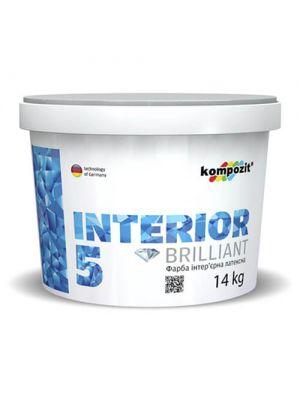 Краска интерьерная INTERIOR 5 Kompozit 14 кг