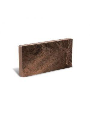 Цокольная плитка Литос Бордо (тонкий кирпич)