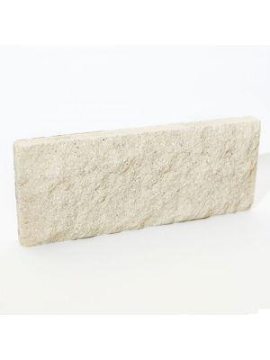 Цокольная плитка Литос Белый (тонкий кирпич)