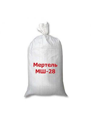 Мертель шамотный МШ-28 ВАОК (огнеупорная смесь)