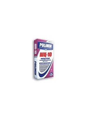 Полимин ШЦ-10 Фасад-Старт Армированная цементная шпаклевка