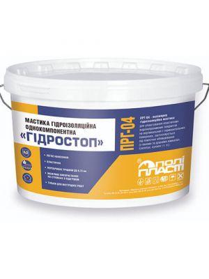 Полипласт ПРГ-04 Мастика гидроизоляционная однокомпонентная Гидростоп