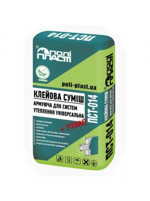 Полипласт ПСТ-014 PRO  Клеевая смесь для систем теплоизоляции универсальная (зима)