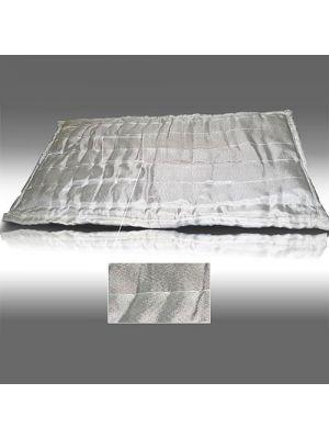 Маты прошивные АТМ-10К теплоизоляционные в обкладке из кремнеземной ткани
