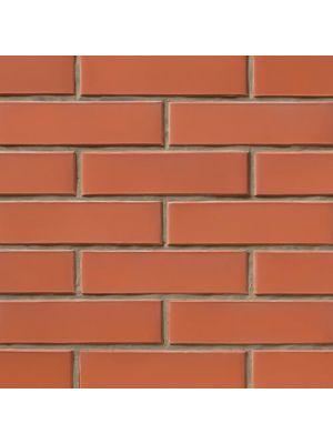 Кирпич СБК-Ромны Красный Вишневый (Ч0) Полуторная половинка (250х65х88мм)