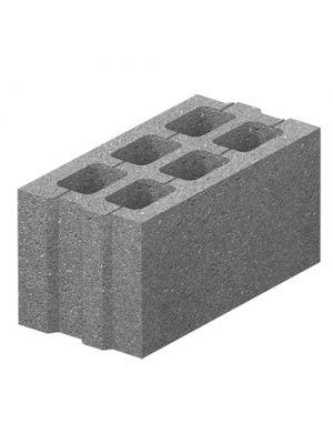 Стеновой бетонный блок стандартный 400х200х200