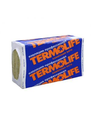 Termolife Эко Фасад (базальтовая вата для фасада) 1000х600х50