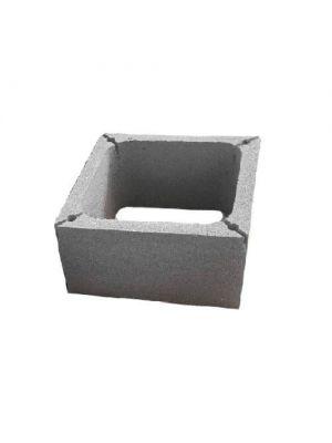 Бетонные блоки для дымохода ВБ-55 550х550х250мм