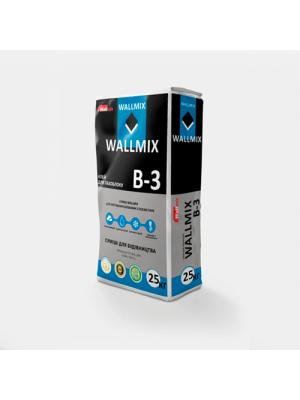 Клей для газоблока WALLMIX B-3