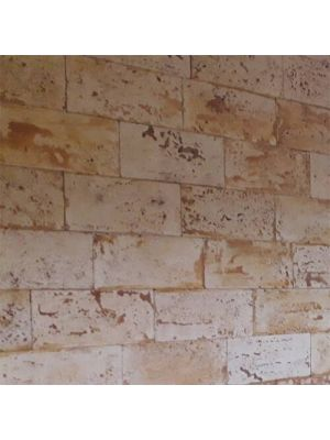 Облицовочный камень Травертин Золотой Мандарин (декоративный камень)