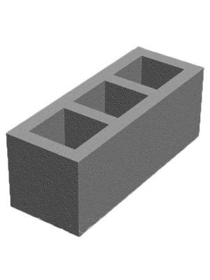 Бетонный блок для вентканалов 250x250x660 Золотой Мандарин