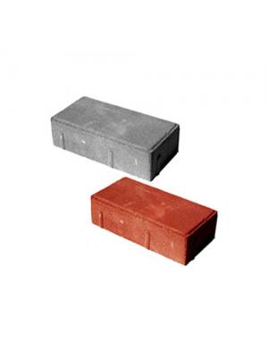 Тротуарная плитка-кирпич (240х160х80) Золотой Мандарин