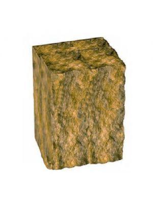 Столбик декоративный горчичный 200х175х150 Золотой Мандарин