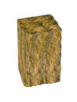 Столбик декоративный горчичный 300х175х150 Золотой Мандарин