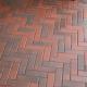 Тротуарная плитка-кирпич Болонья (210х70х60) Золотой Мандарин