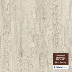 Паркетная доска TARKETT SALSA ART WHITE WEDDING BR PL 550050021