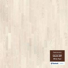Паркетная доска TARKETT SALSA ART Вайт Перл BR PL 550050015