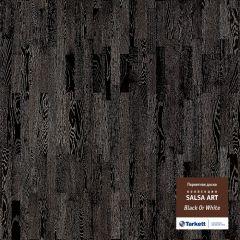 Паркетная доска TARKETT SALSA ART BLACK OR WHITE BR PL 550050018