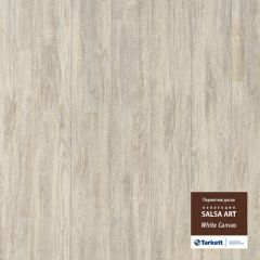 Паркетная доска TARKETT SALSA ART WHITE CANVAS PL DG 550050022