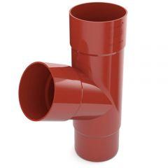 Bryza 125 Тройник трубы красный