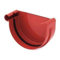 Bryza 125 Заглушка желоба левая, красная