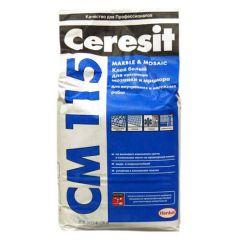 Ceresit СМ 115 Mosaic & Marble Клеюча суміш 25 кг