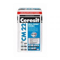 Клей для плитки Ceresit СМ-22 Mega Format Flexible, 25кг