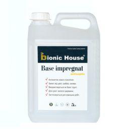 Грунтовка антисептик водный для древесины Base-Impregnat Bionic-House 1л