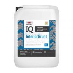 Грунтовка інтер'єрна глубокопроникающая IQ InteriorGrunt 10л