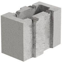 Керамзитобетонный блок стеновой 133х250х188 СБ-ПР 13.25.20 Ковальская