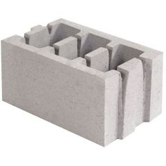 Керамзитобетонний блок стіновий 250х188х400 СБ-ПР 40.25.20 50/850 Ковальська
