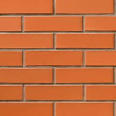 Кирпич СБК-Ромны Красный Морковный (Ч0) Полуторная половинка (250х65х88мм)