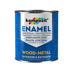 Алкидная эмаль ПФ 115 Kompozit (белая краска) 12 кг