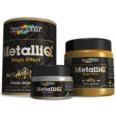 Эмаль акриловая METALLIQ Kompozit (0,5 кг)