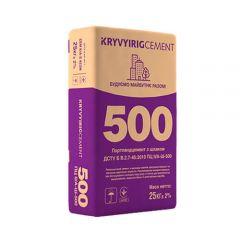 Цемент Криворожский ПЦ ІІ/А-Ш-500, 25 кг